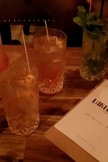 Getränke in der Lantern Bar Kassel